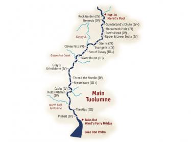 tuolumne map