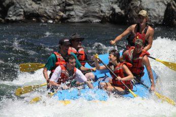 American River Raft California