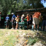 Gold Panning at Mother Lode