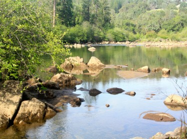 A beautiful view of the South Fork American River.