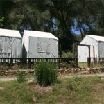 tent cabins at Mother Lode River Center