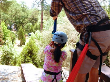 High Ropes: Zip Line Element